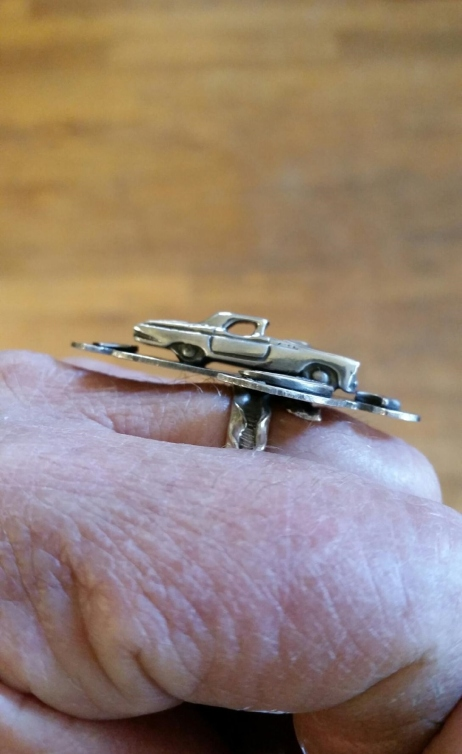 NOT Just Another Thunderbird Ring side-view